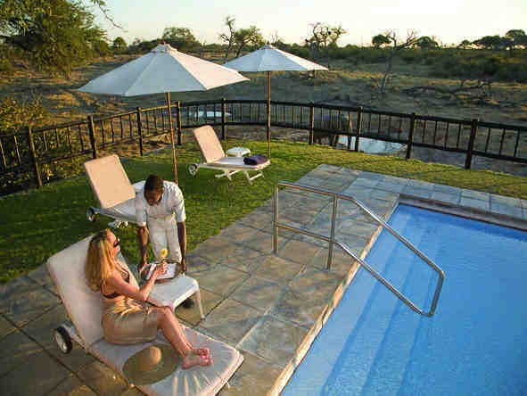 Savute Elephant Camp by Orient Express - Pool