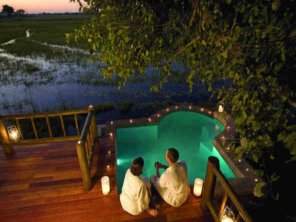 Eagle Island Camp - romantic plunge pool