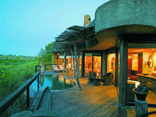 Singita Boulders Lodge - deck