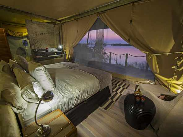 DumaTau Camp - Bedroom Tent