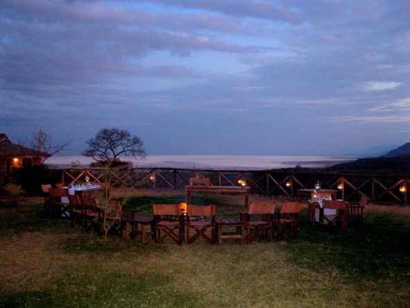 Escarpment Luxury Lodge - Firepit