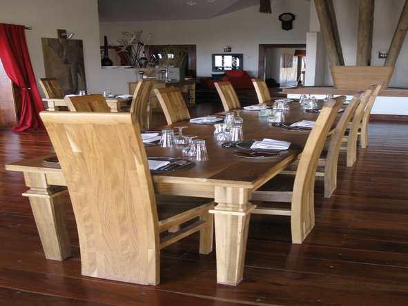 Escarpment Luxury Lodge - Dining Area