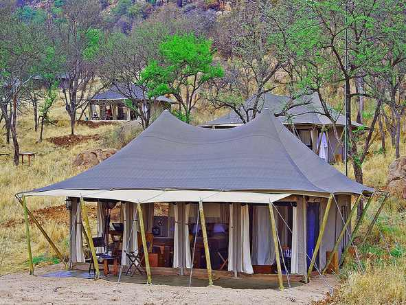 Serengeti Pioneer Camp - Exterior View
