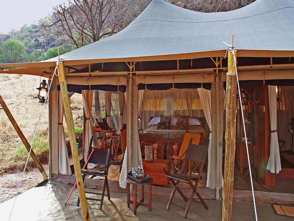 Serengeti Pioneer Camp - Main Tent