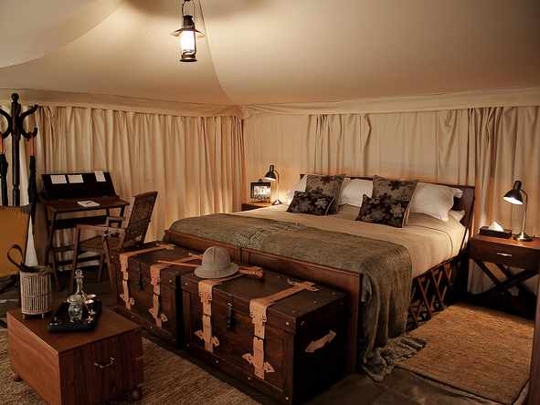 Serengeti Pioneer Camp - Tent Interior