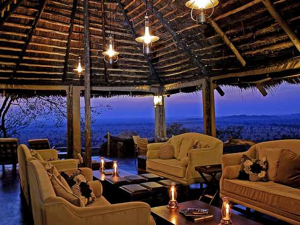 Serengeti Pioneer Camp - Lounge Area