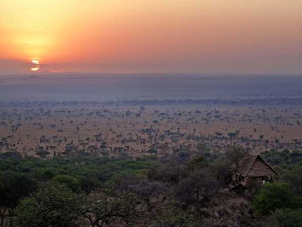 Serengeti Pioneer Camp - Sunset