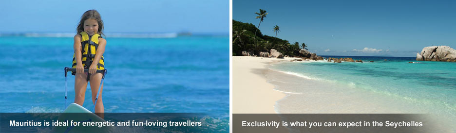 Mauritius vs Seychelles - action & exclusivity