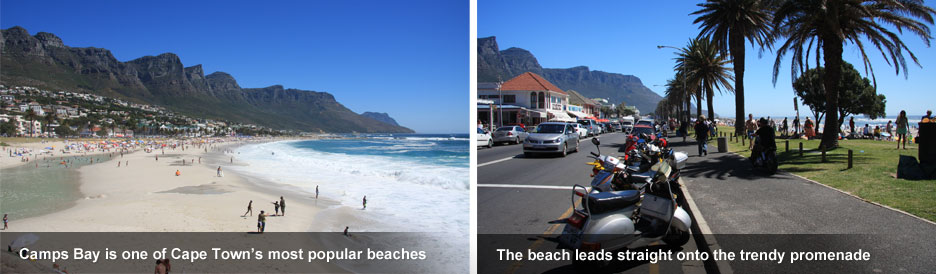 Cape Town's Best Beaches - Camps Bay