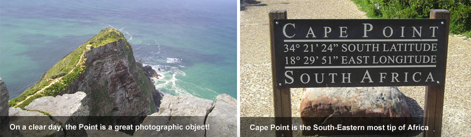 Cape Point - welcome to the south-eastern tip of Africa