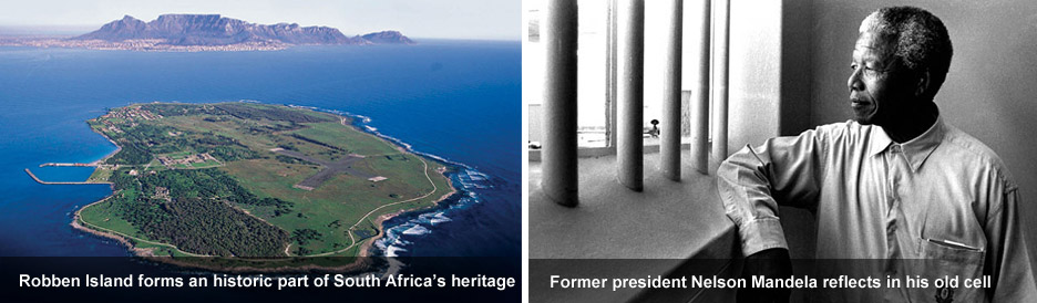 Robben Island - an historic part of South Africa&#39;s heritage