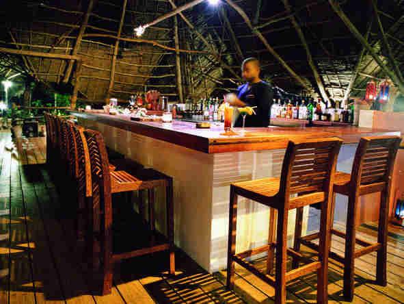 Fundu Lagoon - Bar