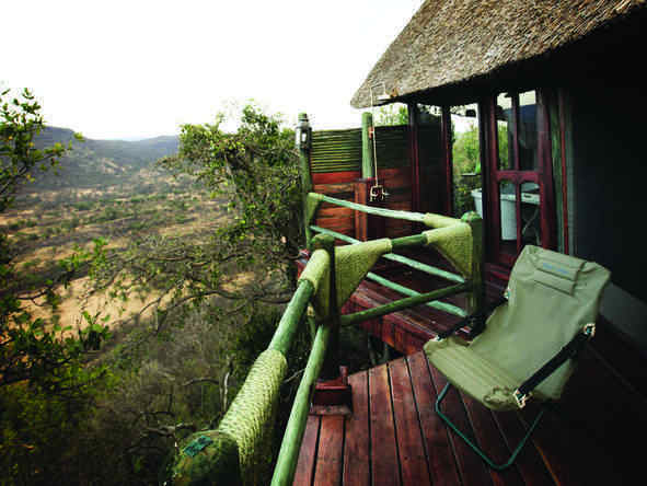 Soroi Serengeti Lodge - private balcony