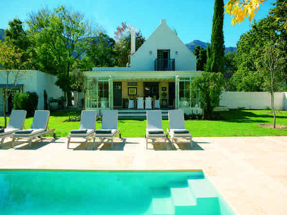 The Owner's Cottage at Grande Provence - pool