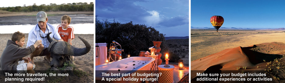 Top Tips on Booking Your African Safari - budgeting is very important!