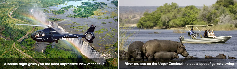 Victoria Falls activities - blog 1