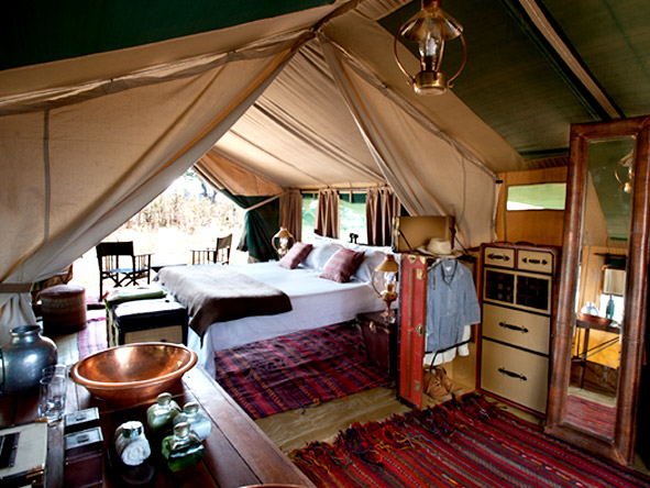 Selinda Explorers Camp - Room tent