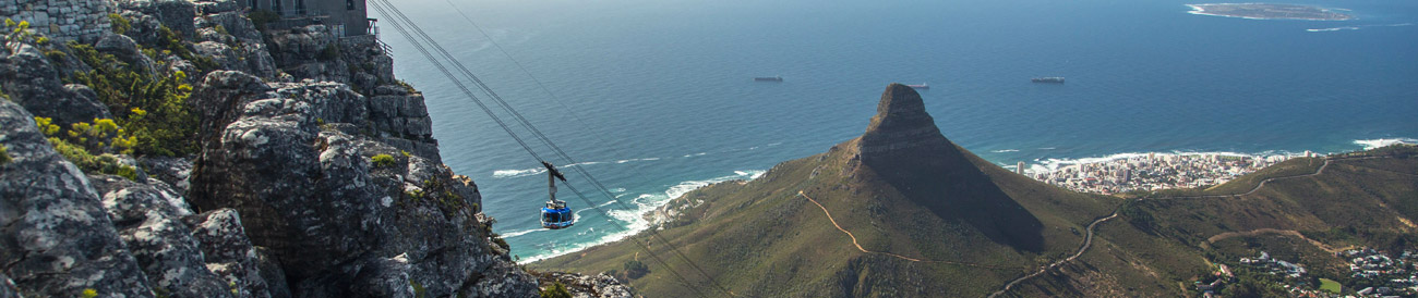 Table Mountain - one of the World's 7 Natural Wonders of Nature