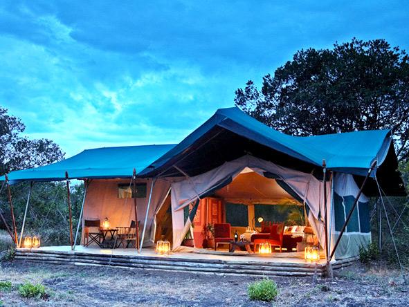 Laikipia Camp - Exterior Tent