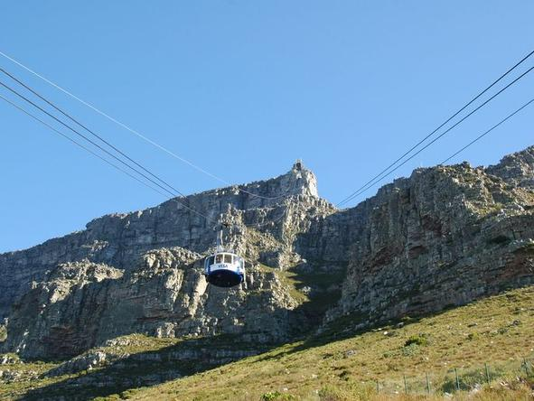 Table Mountain - the cable car