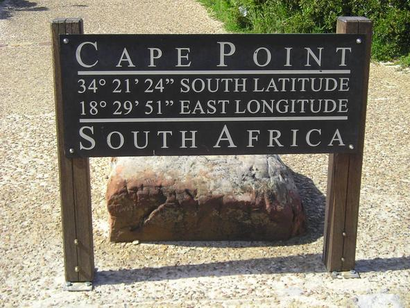 Cape Point - south-western most tip of Africa