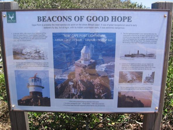 Cape Point - educational sign boards
