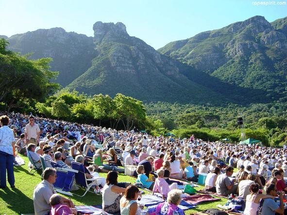 Kirstenbosch Gardens - summer concerts