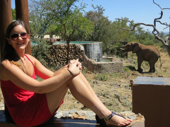 Kiah Preyer - on safari in Kruger