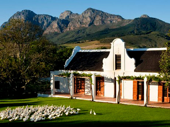 South Africa for the connoisseur - Babylonstoren Exterior