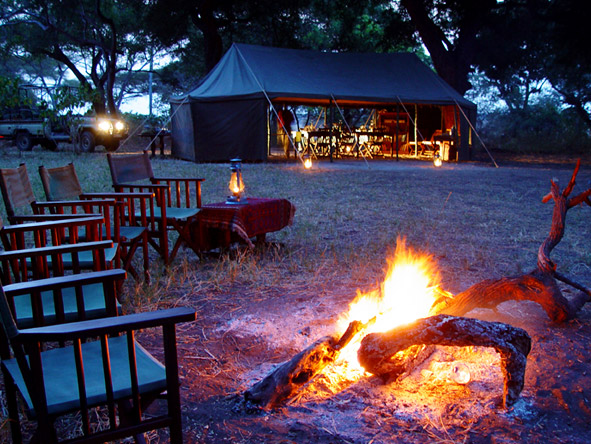 Tanzania's Western Wilderness - Chada Katavi campfire