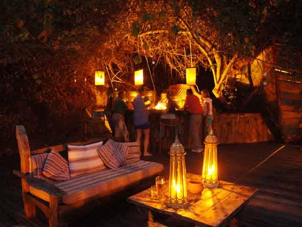 Tanzania's Western Wilderness - Greystoke Mahale bar