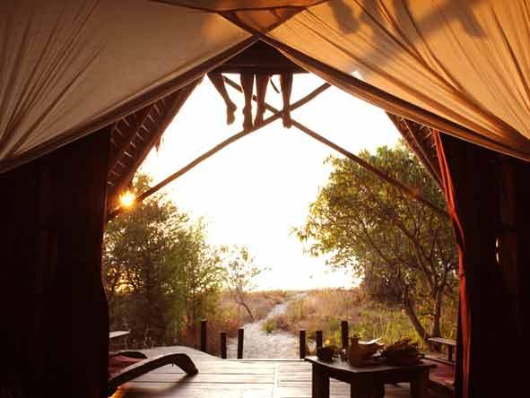 Tanzania's Western Wilderness - Greystroke tent interior