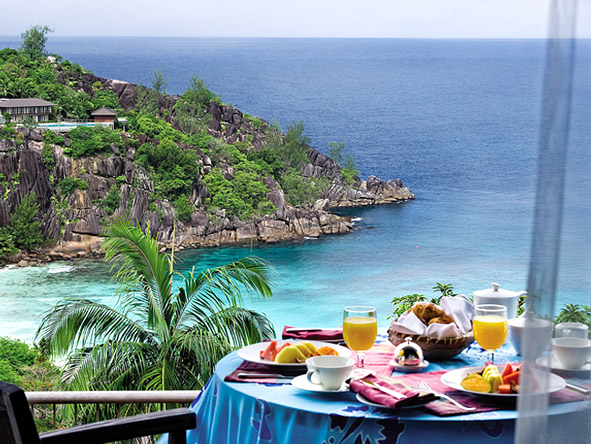 Seychelles Island Honeymoon Retreat - Breakfast