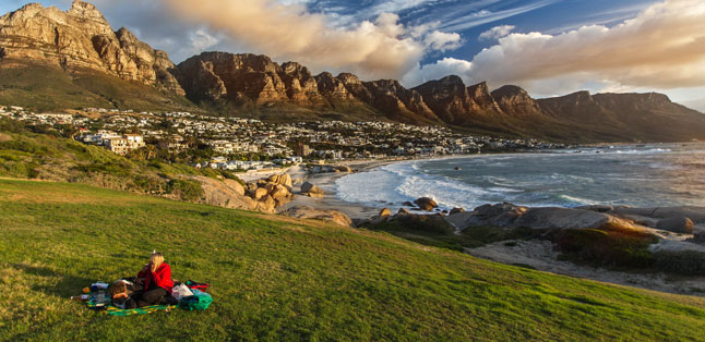 Romantic Escapes - a picnic overlooking Camps Bay Beach