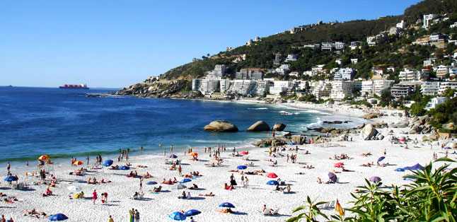 Cape Town's Best Beaches - popular Clifton 4th Beach