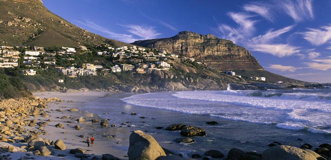 Cape Town's Best Beaches - long walks on Llandudno Beach