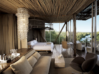 East vs Southern Africa Safaris - luxury accommodation at Singita Lebombo