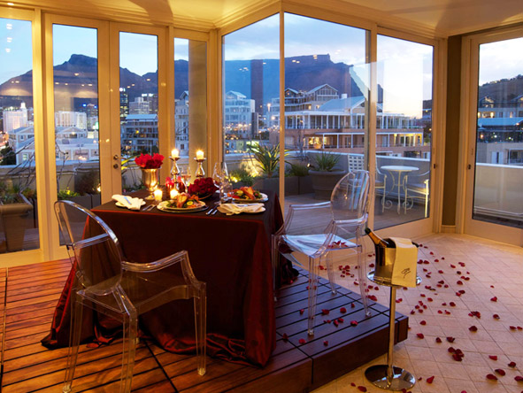 Exclusive Cape Town & Kruger Romance - Cape Grace Spa Lounge