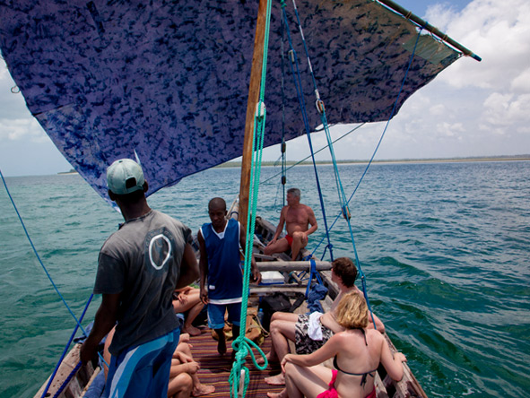 Selous Safari & Island Escape - Tradtional dhow cruising