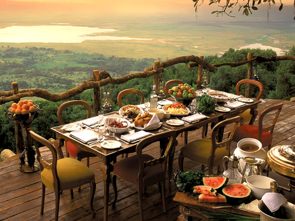 Luxury Migration, Lake & Crater Safari - Ngorongoro Crater views