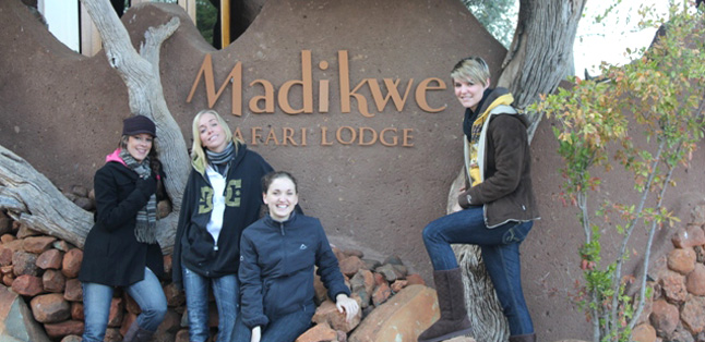 Our Latest Travels Kruger & Madikwe - ready for a game drive in Madikwe