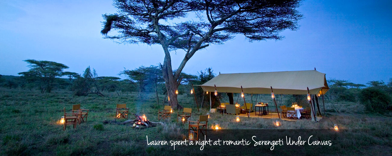Our Latest Travels East Africa - Serengeti Under Canvas