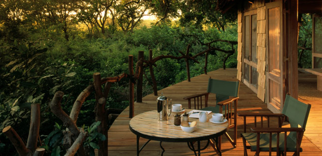 Our Latest Travels East Africa - a spot to relax and unwind after a day's safari