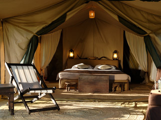 Our Latest Travels Kenya & Tanzania - Dunia Camp is one of the most luxurious tented camps in the Serengeti.