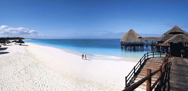 Tanzania in One Country - The white-sand beaches of Zanzibar