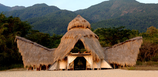Tanzania in One Country - remote luxury in Mahale National Park.