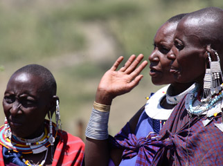 Tanzania in One Country - the Maasai are a strong, vibrant and proud culture.