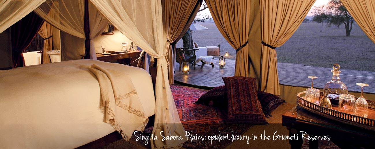 Under Canvas - Luxury at Sinigita Sabora Tented Camp in the Grumeti Reserves