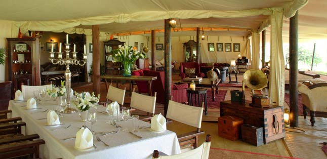 Under Canvas - Cottars 1920 Safari Camp in Kenya evokes a bygone era