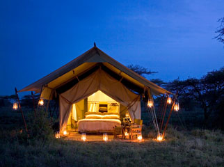 Under Canvas - mobile camping with Serengeti Under Canvas